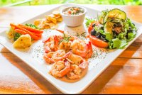 shrimp plate 