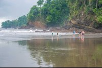 ventanas beach rocky side waterfall tour manuel antonio