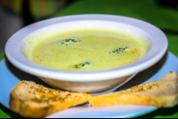 agua dulce resort broccoli soup