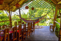 open air dining exotica restaurant carate  - Costa Rica