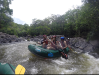 group rafting tenorio river 