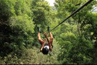 chiclets canopy tour   - Costa Rica