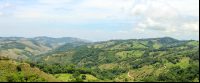 Views from the top of the gondola at Monteverde's Extremos