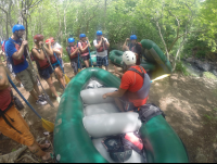 rafting lesson tenorio river 
