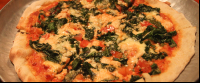 spinach roasted garlic pizza marys