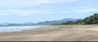 ario beach facing north  - Costa Rica