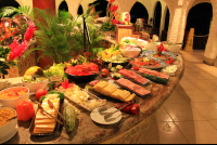 tabacon dinner buffet display 
