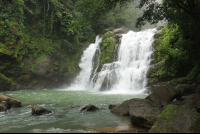 dominical destination nauyaca waterfall    - Costa Rica