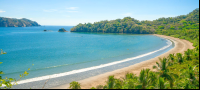 mirador trail lookout point bay view curu