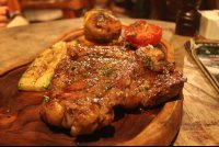 porterhouse steak dinner   - Costa Rica