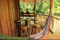 tree house lodge beach house patio 