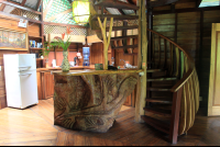 tree house lodge beach house interior 