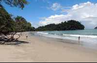 View of Espadilla Sur Beach looking back
