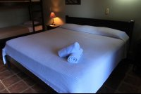 backyard hotel king size bed 
