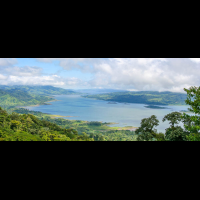 arenal lake view from aerial tram