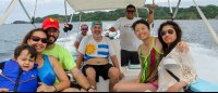 tour group from curu tortuga islands 