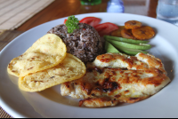 gallo pinto grilled chicken tortillas elsabordemitierra 