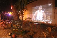 projector screen   - Costa Rica