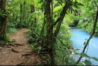 rio celeste trail river 