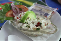 fresh ceviche soda colochos 