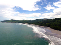 espadilla beach birds eye 