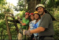 chiclets canopy tour family   - Costa Rica