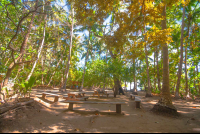playa curu picnic tables