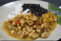 stewed chicken casado curu 