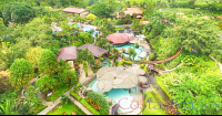 los lagos hotel resort and spa hot springs aerial view  - Costa Rica