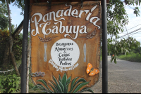 panaderia cabuya sign
