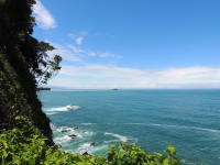 Cathedral Point trail viewpoint at Manuel Antonio National Park