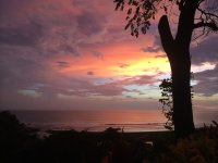sunset from lagarta