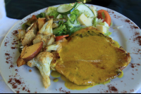 hotel bejuco curry chicken   - Costa Rica