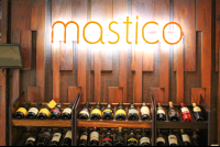 mastico restaurant sign 
