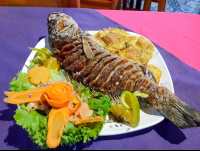 whole fish at las vegas in sierpe