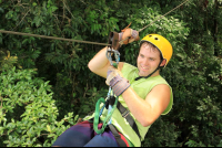 chiclets canopy tour closeup 