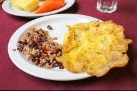 buffet breakfast gallo pinto with eggs mastico restaurant 