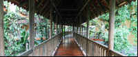 hotel bambu deck to room 