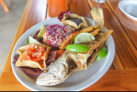 whole fried fish borrancho 