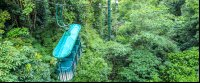 rainforest adventures aerial tram closeup 