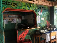 paintings inside montezuma restaurant