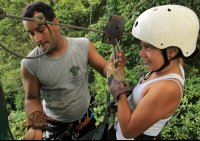 chiclets canopy tour guide   - Costa Rica