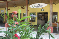 luv burger garden entrance 