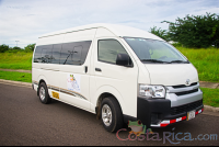 hiace alto mini van lateral view   - Costa Rica