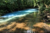 rio celeste rivers merge 