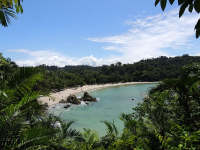 A view of Manuel Antonio Beach