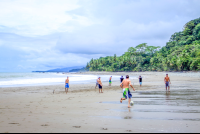 pinuelas beach attraction futbol game 