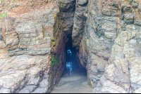 ventanas beach cavern waterfall tour manuel antonio
