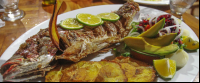 fried whole red snapper kmbute