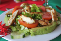 grilled chicken salad costacoral 